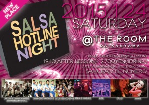 SALSA HOTLINE NIGHT JAN. 2015