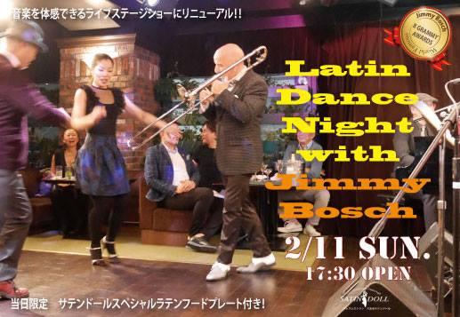 Latin Dance Night with Jimmy Bosch y Sexteto de Otro Mundo