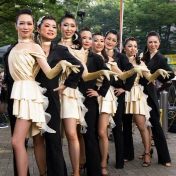 ELEGGUA Dance School Lady's Styling & Movement Performance Class 第214回 SALSA HOTLINE NIGHT(サルホナイト)