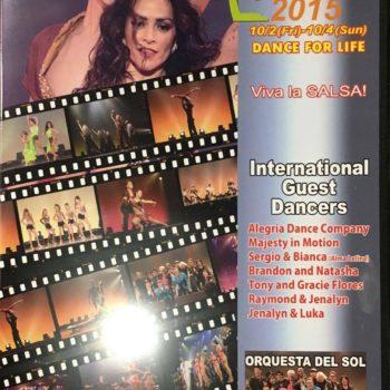 Japsan Salsa Congress 2015 DVD