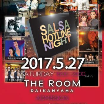 【フライヤー表】第230回 Salsa Hotline Night(サルホナイト) 【お得な早割あり!】【Live】Zona Tropical 【PF】銀座Dream Girls,THE MIU RABBITS,サルセリン,Yukiko & Carlos