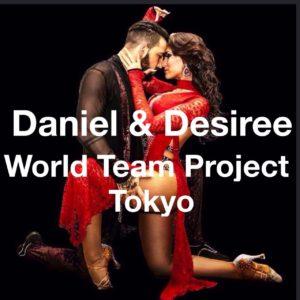 Daniel & Desiree World Team Project Tokyo  第15回日本ラテンダンスコンペティション バチャータチーム