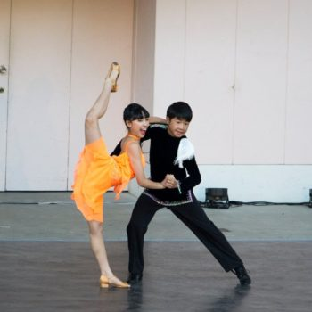 Luna&Kou 第15回日本ラテンダンスコンペティション ジュニア(中高生)ペア・ソロ