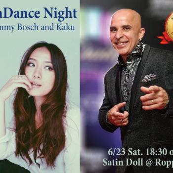 【Latin Dance Night】 Jimmy Bosch y Sexteto de Otro Mundo@Satin Doll ゲストダンサー Kaku