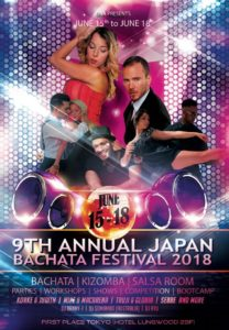 9th Annual Japan Bachata Festival 2018