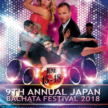 9th Annual Japan Bachata Festival 2018