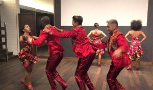 赤坂リンケージでのダンスショー