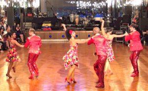 東宝ダンスホールでのダンスショー