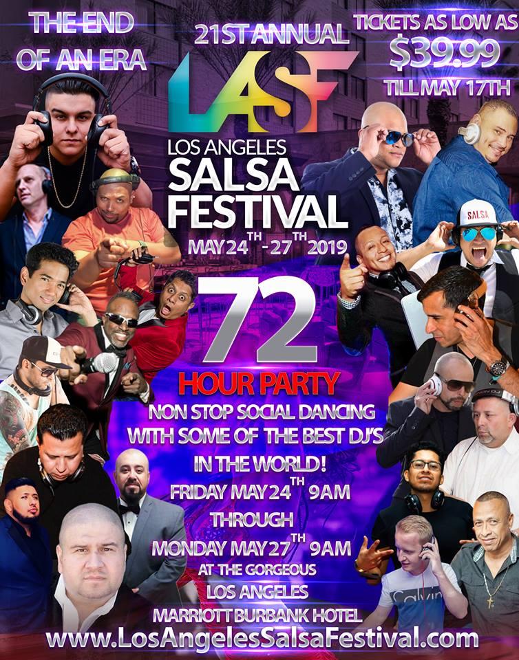 LA SALSA FESTIVAL 2019 を日本から応援しよう!