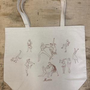 J Latin Tote Bag